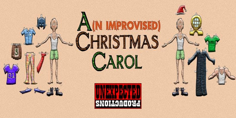 an improvised christmas carol up improv seattle wa unexpected productions