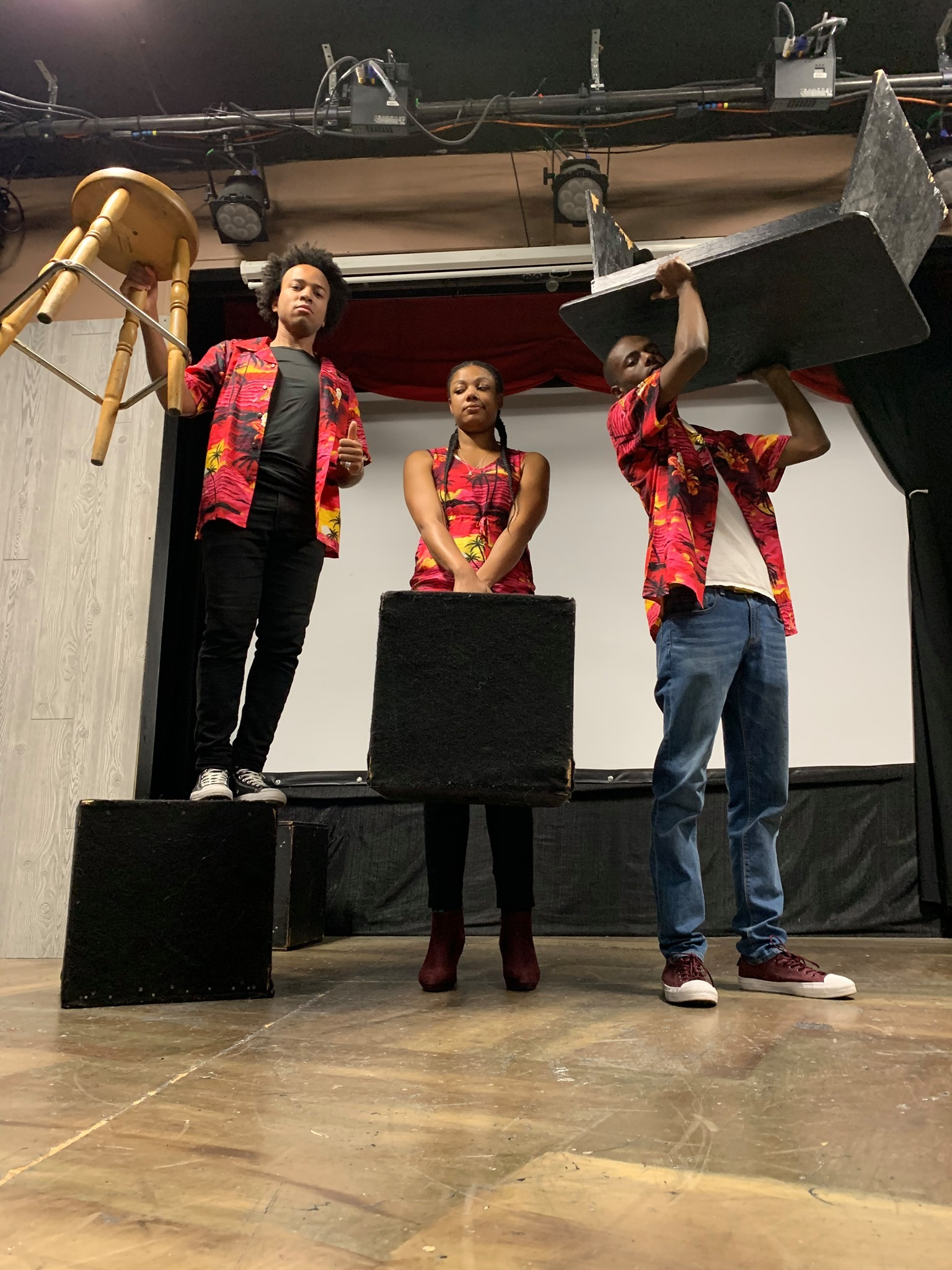TrIO is the Featured Improv Group at the Premiere of Unexpected Guests Thursday